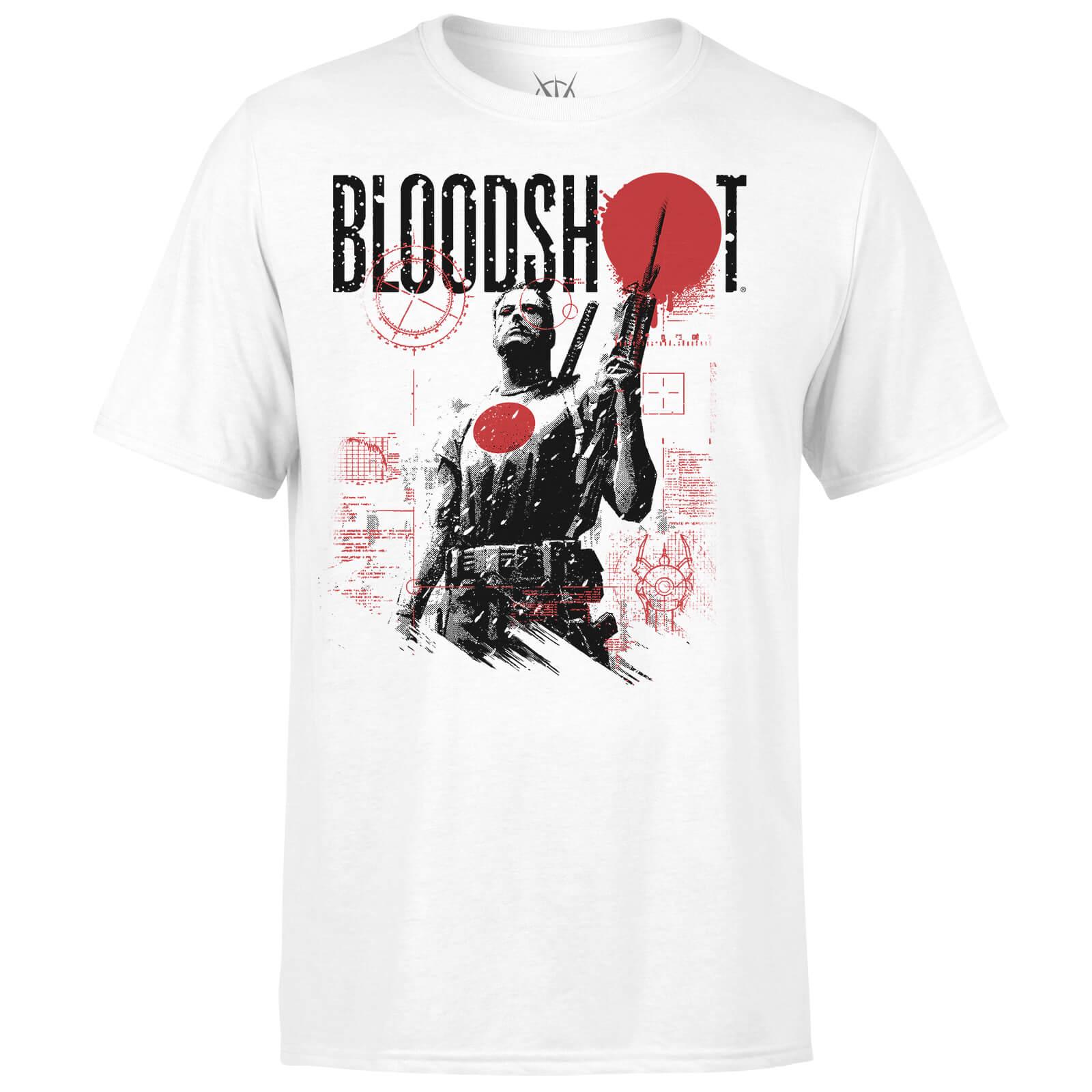 Valiant Comics Bloodshot Graphic T-Shirt - White - XL - White