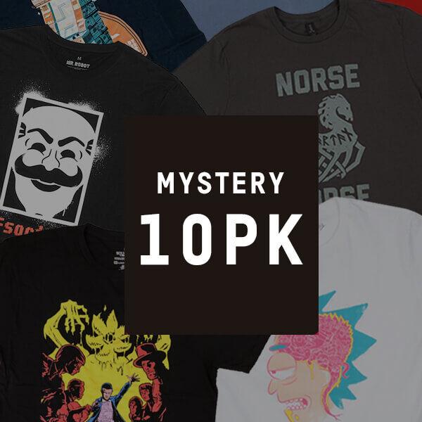 Mystery Geek Collection Mystery Geek T-Shirt - 10-Pack - Men's - XL
