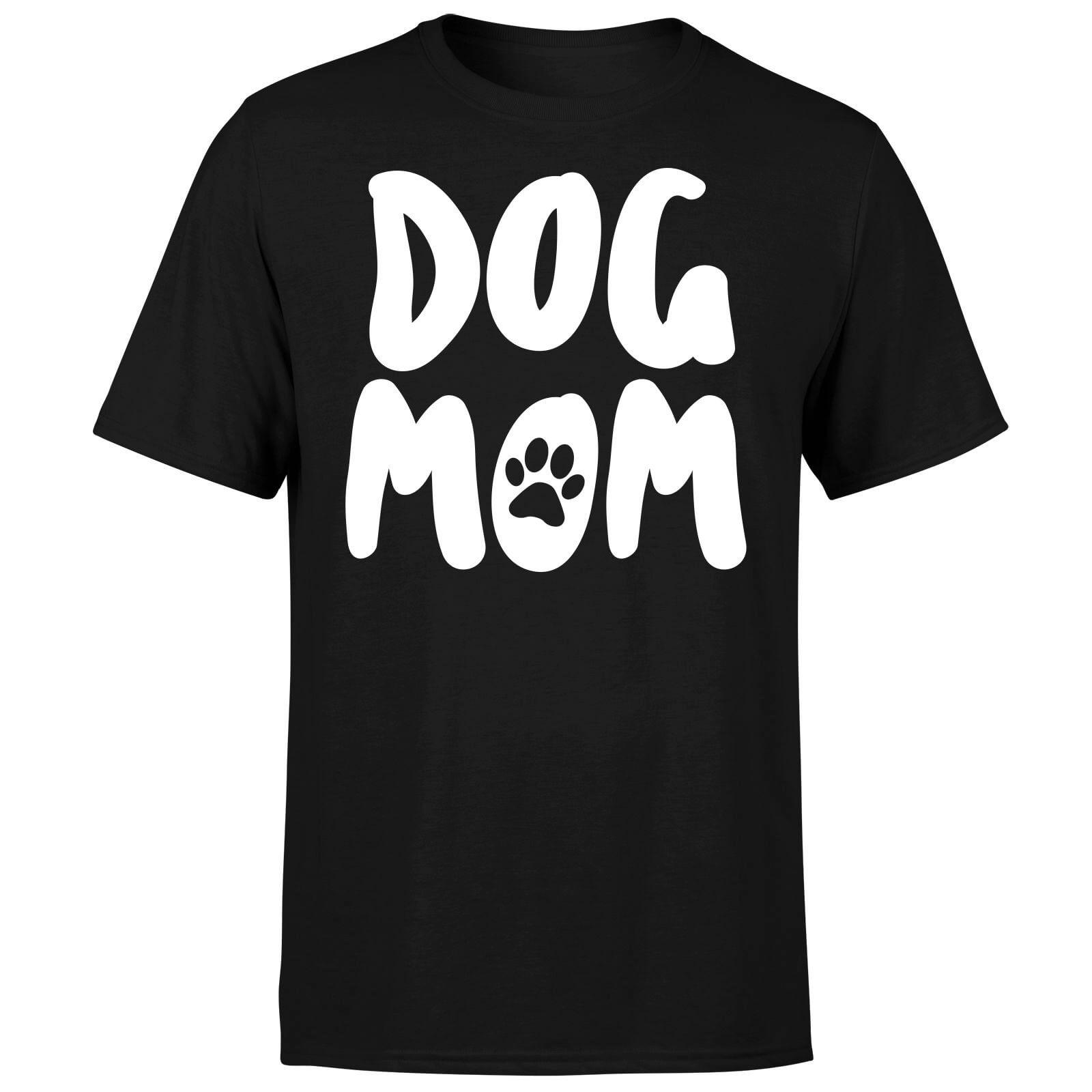 The Pet Collection Dog Mom T-Shirt - Black - 4XL - Black