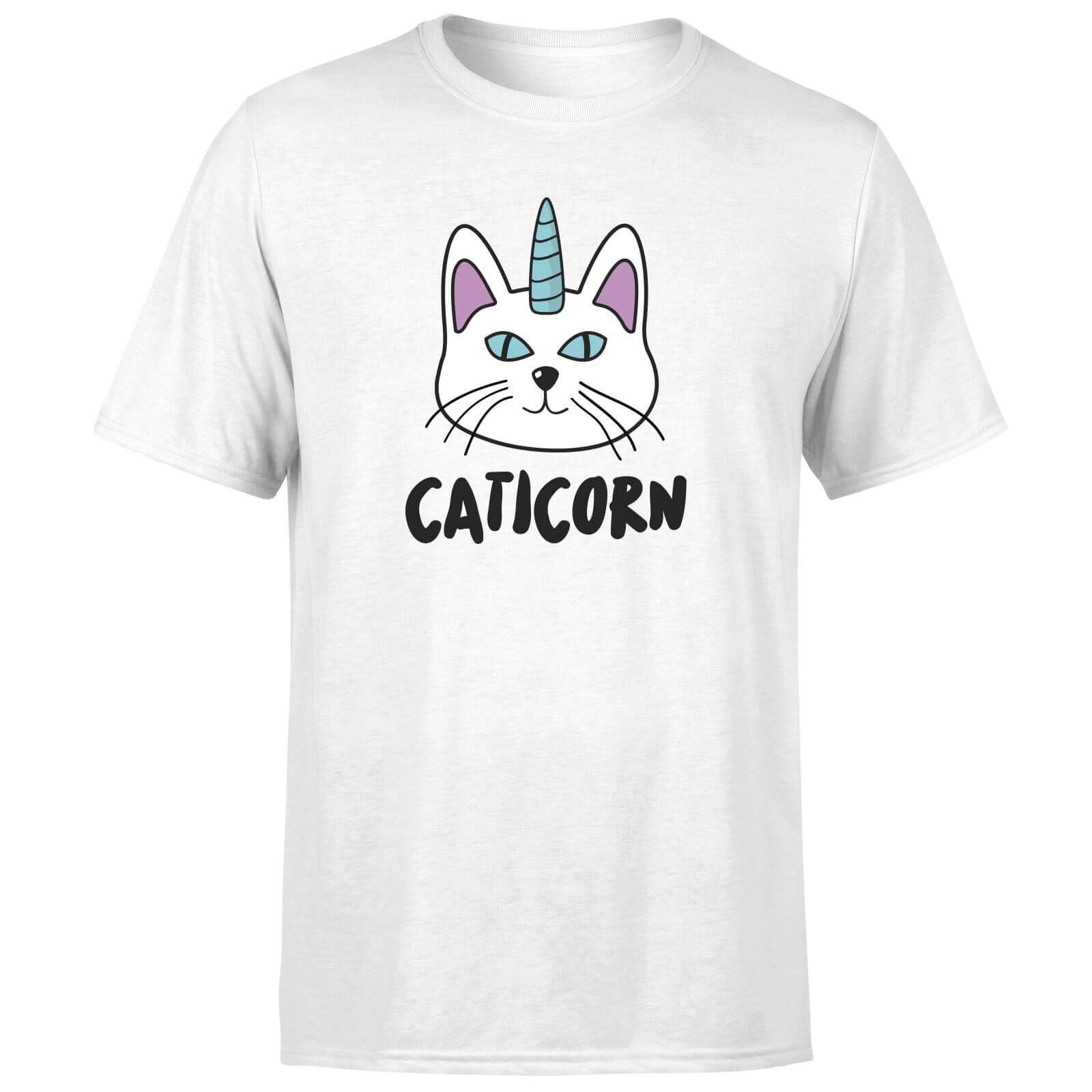 The Pet Collection Caticorn T-Shirt - White - 5XL - White