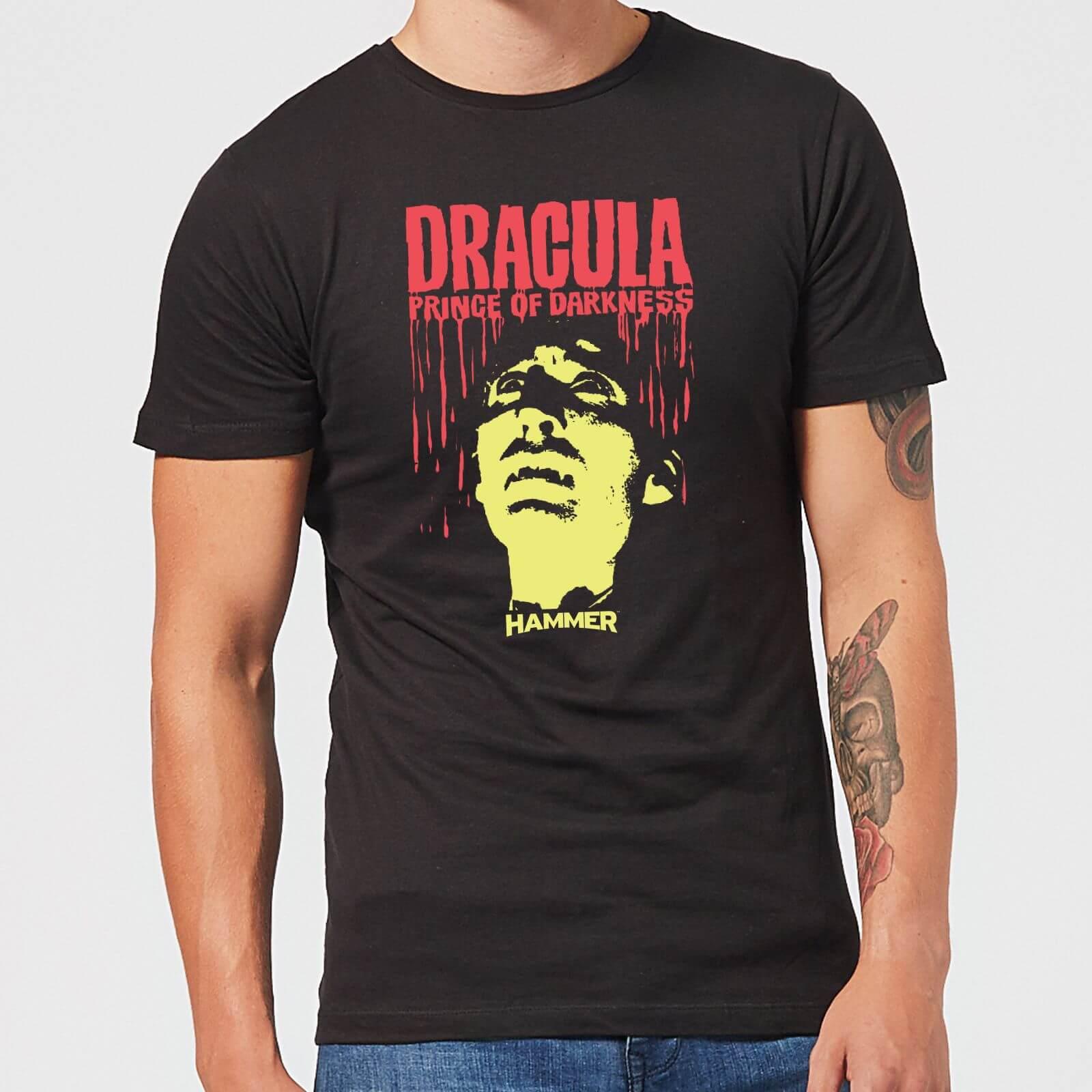 Hammer Horror Dracula Prince Of Darkness Men's T-Shirt - Black - M - Black