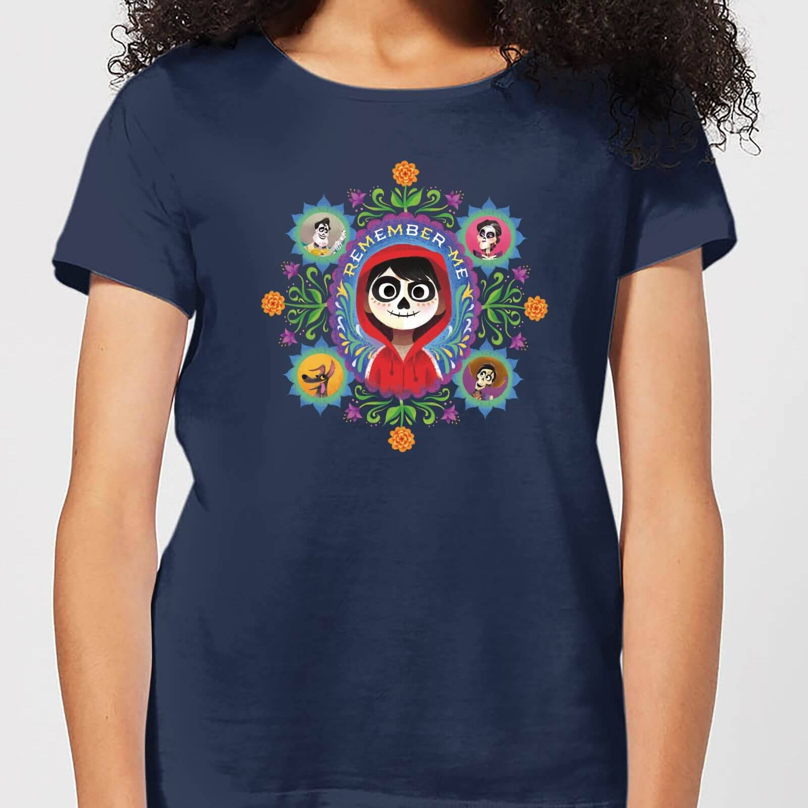 Disney Coco Remember Me Women's T-Shirt - Navy - S - Navy
