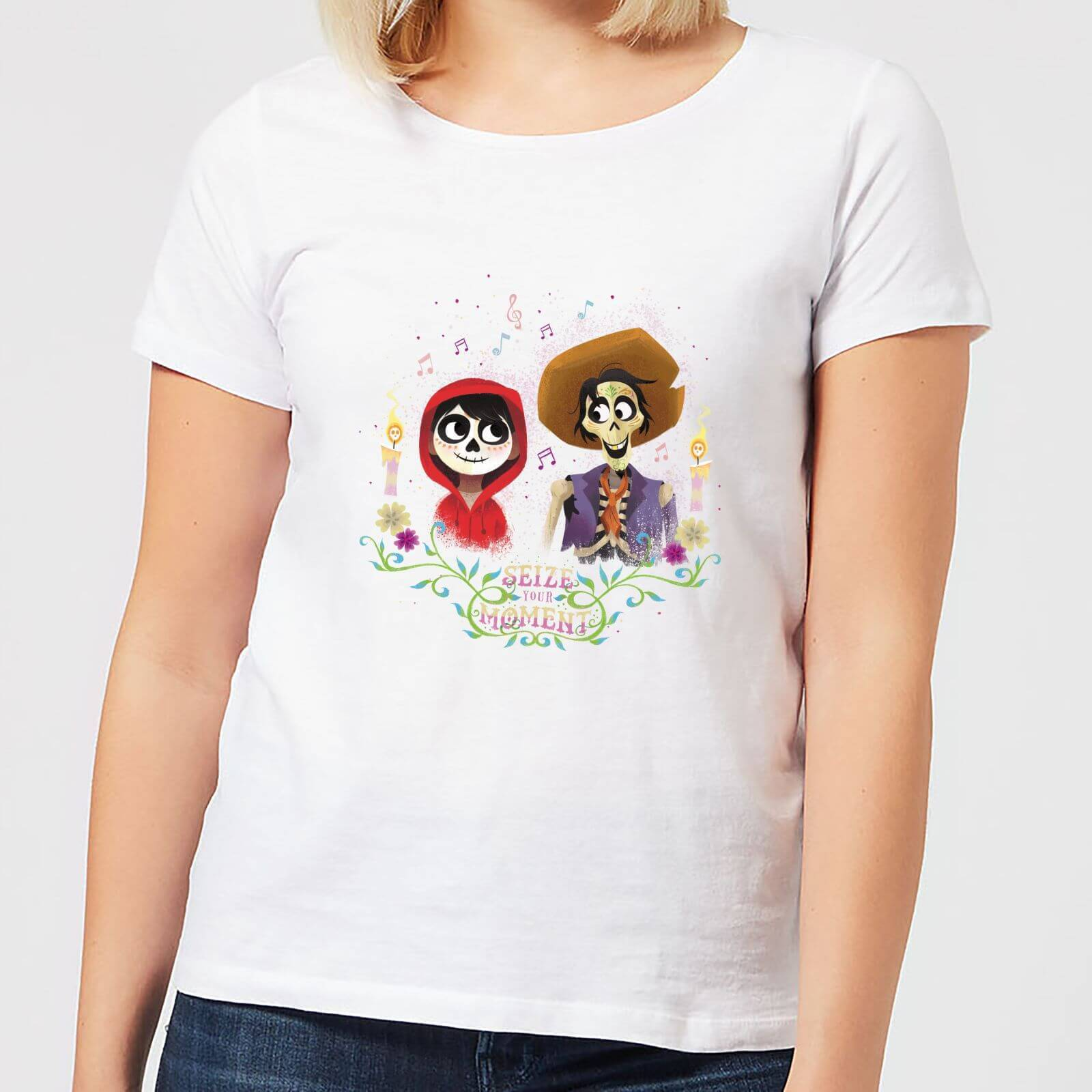 Disney Coco Miguel And Hector Women's T-Shirt - White - 4XL - White