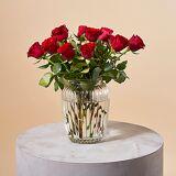 Serenata Flowers A Dozen Red Roses Giftwrap