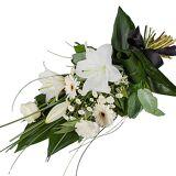 Serenata Flowers Petite White Lily Sheaf