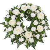 Serenata Flowers Classic White Wreath
