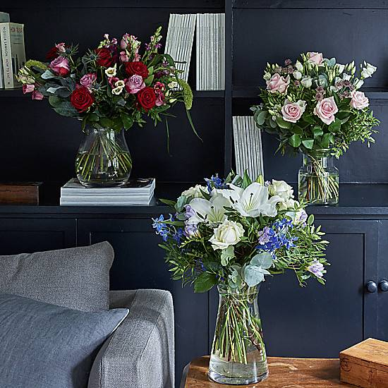 Serenata Flowers Delight Flower Subscription. Weekly / Monthly Delivery Schedule. Get a free vase with your 1st flower delivery.