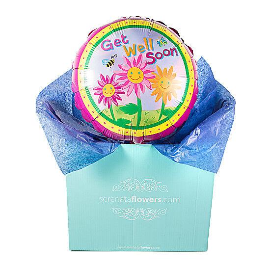 Serenata Flowers Get Well Soon Flowers Balloon Gift