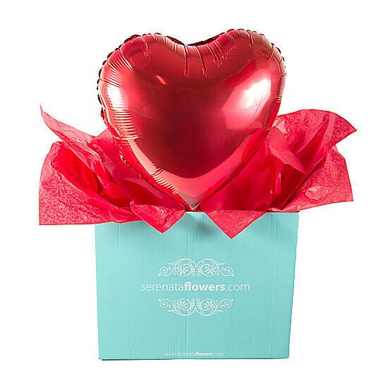 Serenata Flowers Heart Balloon Gift