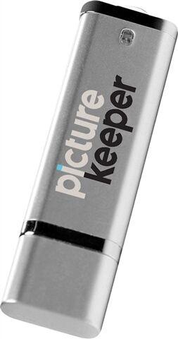 Refurbished: Picture Keeper 8GB Portable Photo Backup USB Flash Drive (PC/Mac)