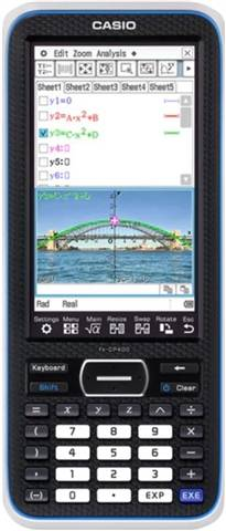 Refurbished: Casio Classpad II FX-CP400 CAS Graphing Calculator, C
