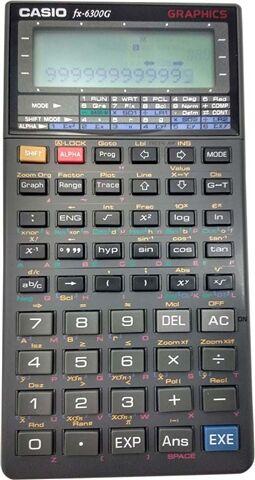Refurbished: Casio FX-6300G Scientific Calculator, B