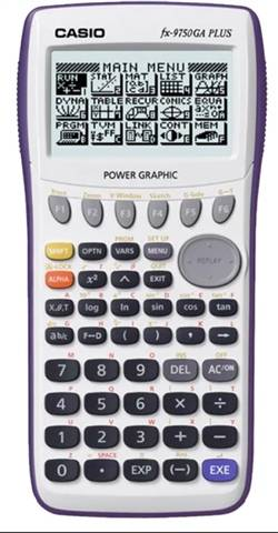 Refurbished: Casio FX-9750GA PLUS Graphing Calculator, C
