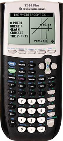 Refurbished: Texas Instruments TI-84 Plus Graphing Calculator, C