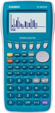 Casio FX-7400GII Graphing Calculator, B