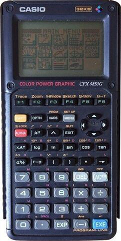 Casio FX-9850G Graphing Calculator, C