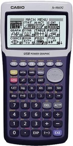 Casio FX-9860G Graphing Calculator, B