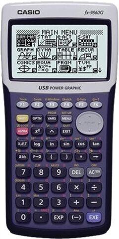 Casio FX-9860G Graphing Calculator, C