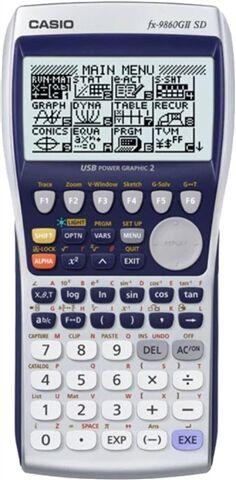 Casio FX-9860GII SD Graphing Calculator, B