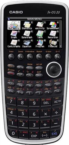 Casio FX-CG20 Graphing Calculator, A
