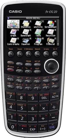 Casio FX-CG20 Graphing Calculator, B