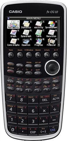 Casio PRIZM FX-CG10 Graphing Calculator, B