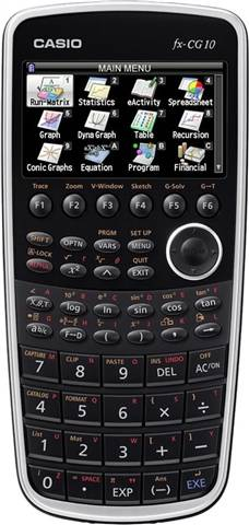 Casio PRIZM FX-CG10 Graphing Calculator, C