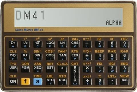 Swiss Micros DM41 Calculator, B