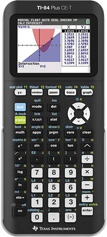 Texas Instruments TI-84 Plus CE-T Graphing Calculator, B