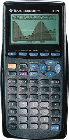 Texas Instruments TI-89 CAS Graphing Calculator, B
