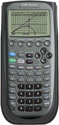 Texas Instruments TI-89 Titanium CAS Graphing Calculator, B