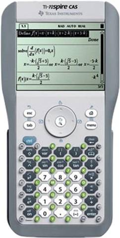 Texas Instruments TI-Nspire CAS Graphing Calculator, B