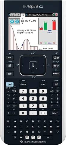 Texas Instruments TI-Nspire CX Graphing Calculator, B