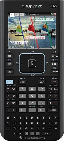 Texas Instruments TI-Nspire CX CAS Graphing Calculator, B