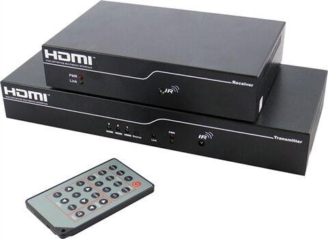A Class Technology HD Juice Box (Transmeter+Reciever+Remote), A