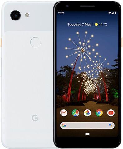 Refurbished: Google Pixel 3a 64GB Clearly White, Unlocked B