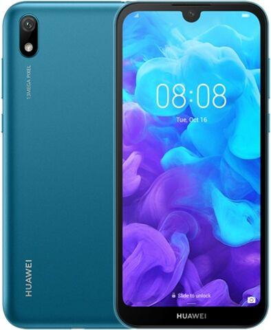 Refurbished: Huawei Y5 (2019) Dual Sim 16GB Sapphire Blue, Unlocked C
