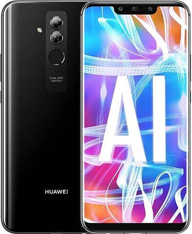 Refurbished: Huawei Mate 20 Lite 64GB Dual Sim Black, EE B