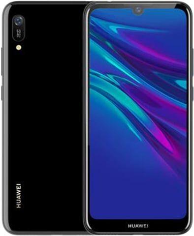 Refurbished: Huawei Y6 2019 32GB Midnight Black, Unlocked B