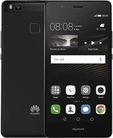 Refurbished: Huawei P9 Lite (2GB+16GB) Black, Vodafone B