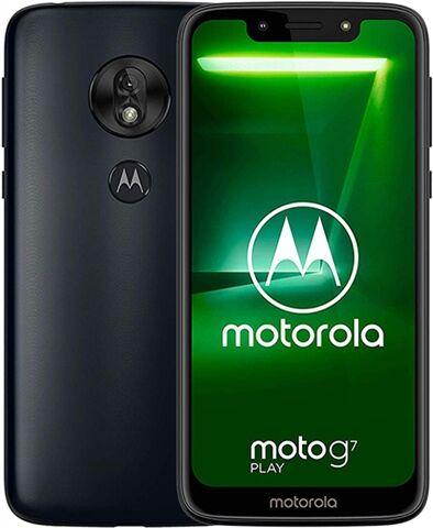 Motorola Moto G7 Play (XT1952) 32GB Deep Indigo, Unlocked C