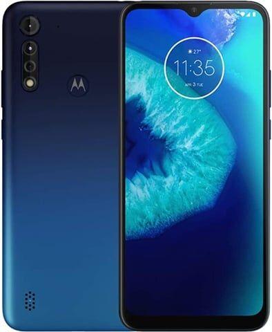 Refurbished: Motorola Moto G8 Power Lite Dual Sim 64GB Royal Blue, Unlocked C