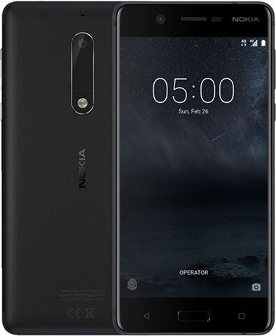Nokia 5 Dual Sim 16GB Black, Unlocked C