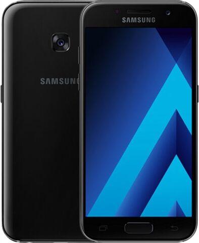 SAMSUNG Galaxy A3 A320FL (2017) 16GB Black, Unlocked C