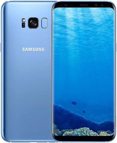 Refurbished: Samsung Galaxy S8 Plus 64GB Coral Blue, Unlocked B