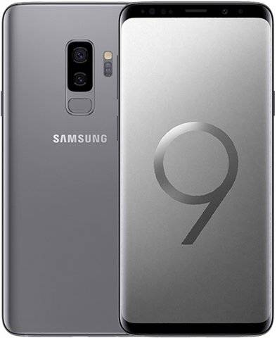 Refurbished: Samsung Galaxy S9 Plus 256GB Titanium Gray, Unlocked C