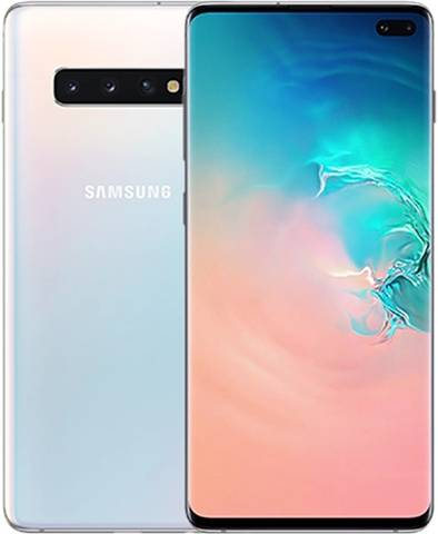 Refurbished: Samsung Galaxy S10 Plus 128GB Prism White, EE C