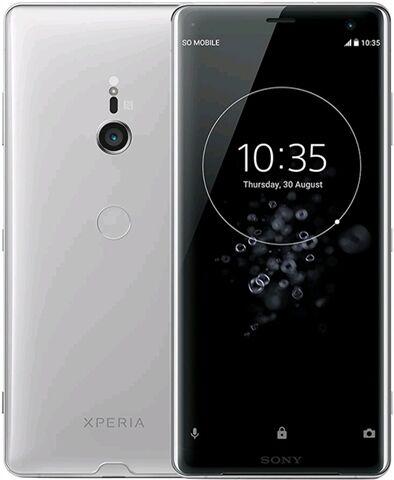 Refurbished: Sony Xperia XZ3 64GB Silver, EE C
