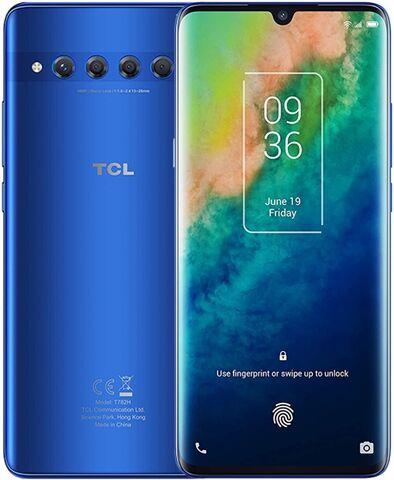 TCL 10 Plus 256GB Moonlight Blue, Unlocked B