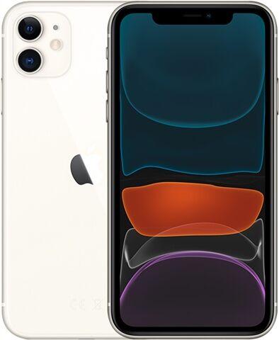 Apple iPhone 11 256GB White, Unlocked C